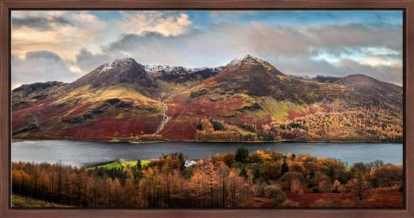 High Stile High Crag in Autumn - Modern Print