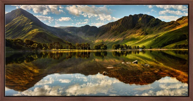 The Greens of Buttermere - Modern Print