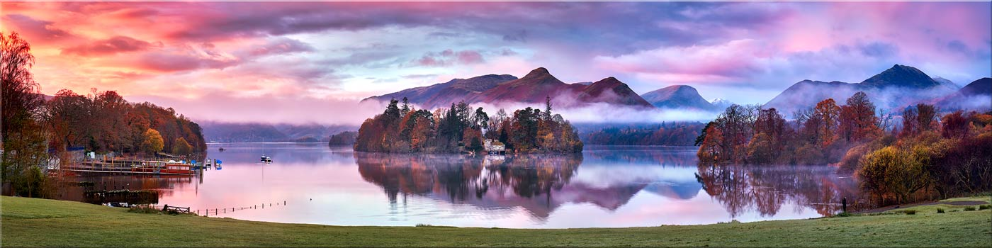 Derwent Water Sunrise - Canvas Print