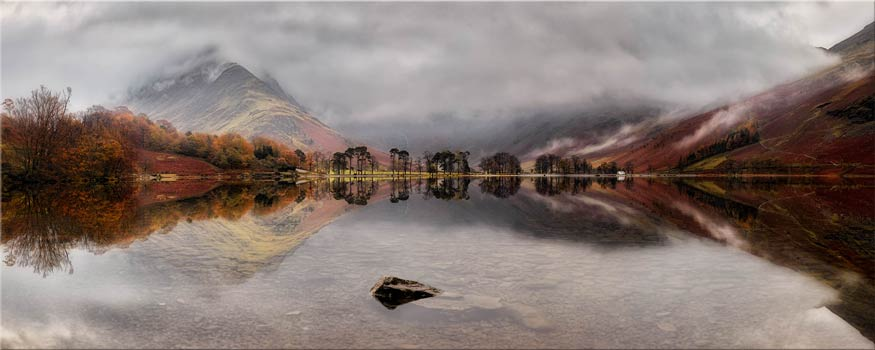 Buttermere Between the Showers - Canvas Print
