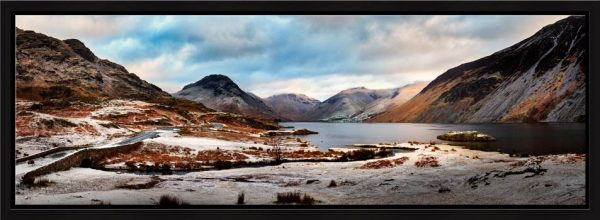 Snowy Day at Wast Water - Modern Print