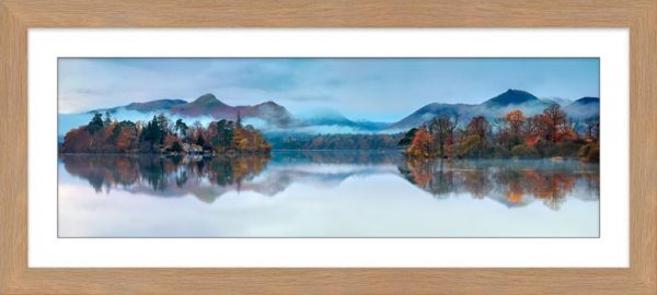 Derwent Isle Dawn Mists - Framed Print with Mount