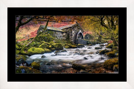 Borrowdale Mill - Framed Print with Mount