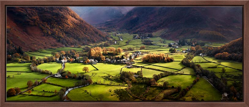 Autumn Colours of Borrowdale - Modern Print