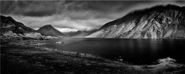 Sunlight on Wast Water - Canvas Print