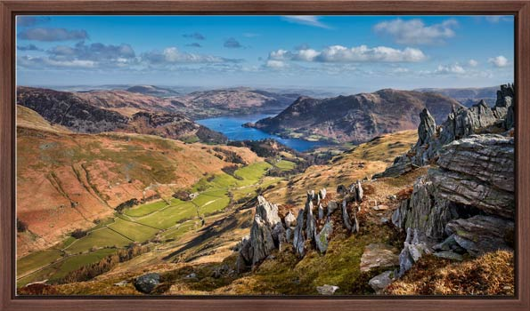 Ullswater from St Sunday Crag - Modern Print