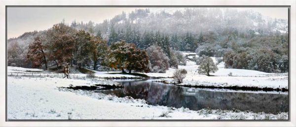 Winter at Birk Rigg Park near Elter Water