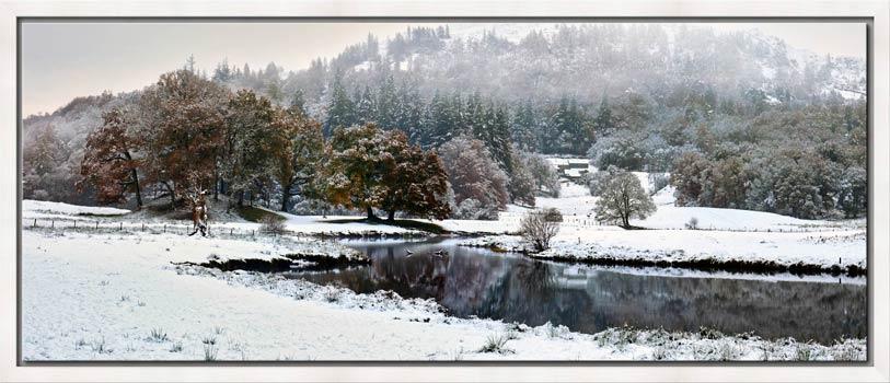Winter at Birk Rigg Park near Elter Water