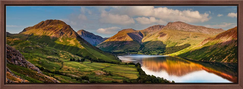 Wast Water in the Evening Sun - Modern Print