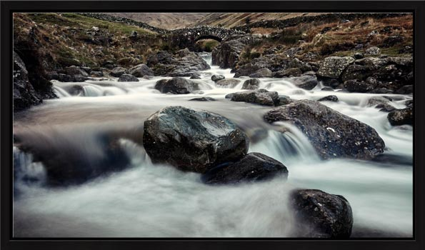 Grains Gill and Stockley Bridge - Modern Print