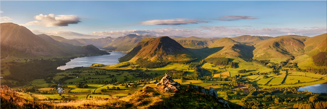 Loweswater Fell Summit - Canvas Print