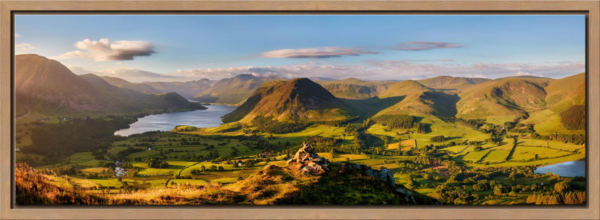 Loweswater Fell Summit - Modern Print