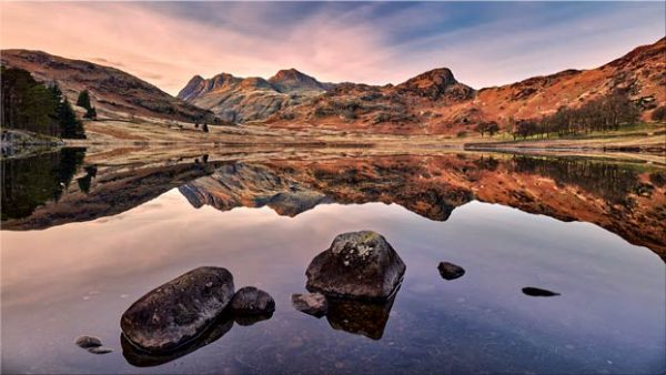 Blea Tarn at Dusk - Lake District Canvas