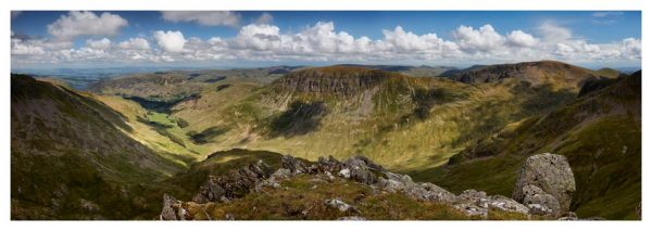 Helvellyn to St Sunday Crag - Prints of Lake District