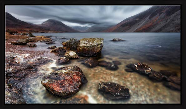 Wast Water Middle Earth - Modern Print