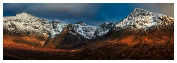 Evening Light on Cuillins - Prints of Isle of Skye