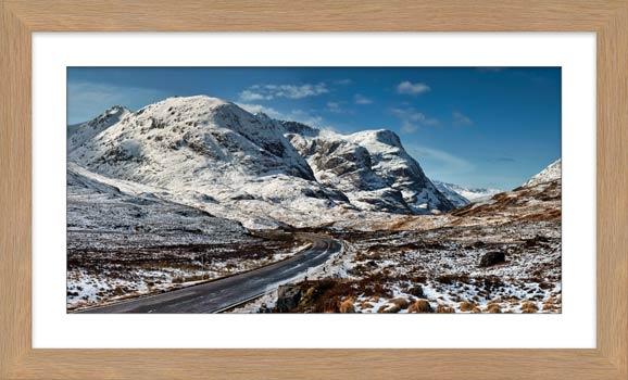 Road Through Glencoe - Framed Print with Mount