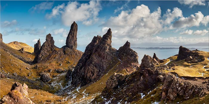 The Leaning Towers of Skye - Canvas Print