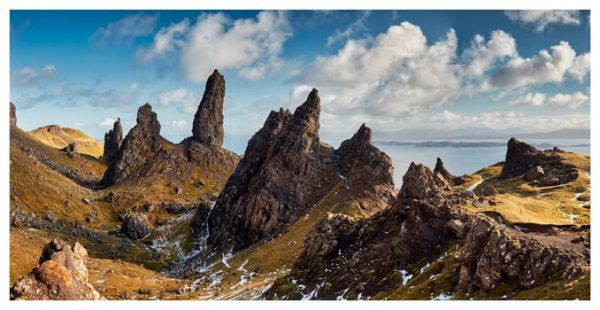 The Leaning Towers of Skye - Scotland Print