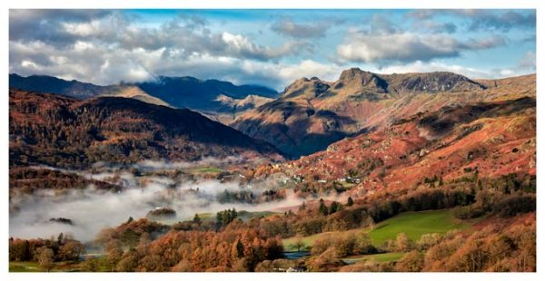 Chapel Stile Langdale - Lake District Print