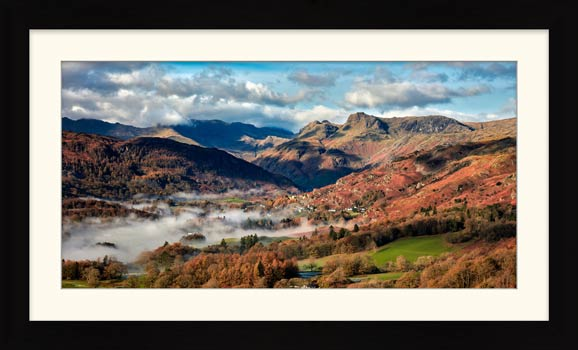 Chapel Stile Langdale - Framed Print with Mount