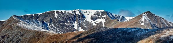 Helvellyn Snow Capped - UltraHD Print with Aluminium Backing